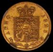 London Coins : A165 : Lot 2642 : Half Sovereign 1825 Marsh 406 in an NGC holder and graded AU58