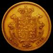 London Coins : A165 : Lot 2649 : Half Sovereign 1835 Marsh 411 NVF/GF