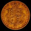 London Coins : A165 : Lot 2670 : Half Sovereign 1877 Marsh 452, Die Number 45 NVF/GF