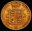 London Coins : A165 : Lot 2671 : Half Sovereign 1878 Marsh 453, S.3860D Die number 11 Good Fine
