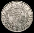 London Coins : A165 : Lot 2739 : Halfcrown 1819 ESC 623, Bull 2102 NEF lightly toned with some underlying lustre