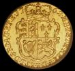 London Coins : A165 : Lot 2857 : Quarter Guinea 1762 S.3741 Choice Brilliant UNC, an exceptional example, in an LCGS holder and grade...
