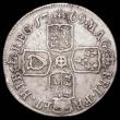 London Coins : A165 : Lot 2864 : Shilling 1709 E* ESC 1152, Bull 1444, no stops after REG, MAG and FR, Reversed Z-type 1 and narrow 0...