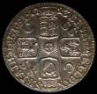 London Coins : A165 : Lot 2894 : Sixpence 1723 SSC Small Obverse Letters ESC 1600, Bull 1612 GEF and choice, in an LCGS holder and gr...