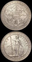 London Coins : A165 : Lot 3167 : Trade Dollars (2) 1911B KM#T5 NEF/EF, 1930 KM#T5 NEF