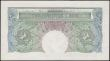 London Coins : A165 : Lot 353 : One Pound Green Peppiatt Fourth Period, B260 Threaded issue 1948, first series S55A 877250, choice U...