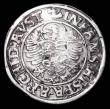 London Coins : A165 : Lot 3593 : Austria Half Thaler undated Ferdinand I (1521-1564) Obverse half length bust VG on a full round flan