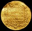 London Coins : A165 : Lot 3741 : Netherlands - Holland Gold Ducat 1770 KM#12.3 Good Fine, creased, Ex-Jewellery
