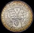 London Coins : A165 : Lot 3867 : Florin 1896 ESC 880, Bull 2966, Davies 843 dies 2B, A/UNC and lustrous with an attractive golden ton...