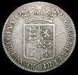 London Coins : A165 : Lot 3880 : Halfcrown 1689 First Shield, Caul only frosted, no pearls, as ESC 506, Bull 834 Near Fine/Fine, the ...