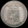 London Coins : A165 : Lot 3881 : Halfcrown 1689 Second Shield, Caul and interior frosted, No Pearls, ESC 509, Bull 838 Bold Fine with...