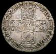 London Coins : A165 : Lot 3932 : Shilling 1720 Plain in Angles ESC1167, Bull 1568 Good Fine and nicely toned