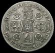 London Coins : A165 : Lot 3936 : Shilling 1739 Roses as ESC 1201, Bull 1713, the T of A.T overstruck, T of ET overstruck and the foll...