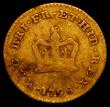 London Coins : A165 : Lot 3973 : Third Guinea 1798 S.3738 VG with some scratches