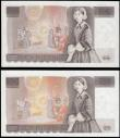 London Coins : A165 : Lot 443 : Ten Pounds QE2 pictorial type & Florence Nightingale (2), Page B330 Brown issue 1975 series S74 ...