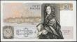 London Coins : A165 : Lot 471 : Fifty Pounds QE2 pictorial type & Sir Christopher Wren, Somerset B352 Contoured Thread Brown iss...