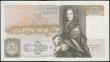 London Coins : A165 : Lot 479 : Fifty Pounds QE2 Pictorial and Sir Christopher Wren, Gill B356 Windowed Security Thread (Stardust th...
