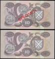 London Coins : A165 : Lot 770 : Scotland Bank of Scotland 10 Pounds signatures Pattulo & Burt dated 13th April 1994 includes a S...
