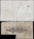 London Coins : A165 : Lot 78 : Five Pounds Beale White note B270 dated 15th August 1952 last series Y60 VG stained with inked and s...