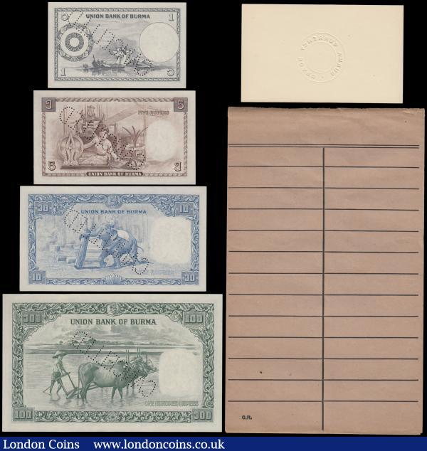 Burma : Buy and Sell World Banknotes : Auction Prices