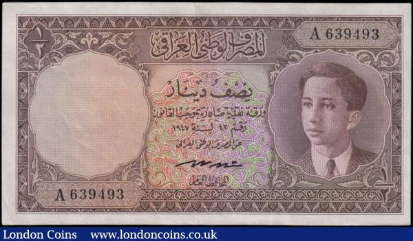 MINT IRAQ SADDAM HUSSEIN 25 DINAR MONEY 1986 CERTIFIED /& SEALED UNC P 73