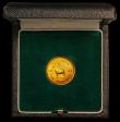 London Coins : A166 : Lot 1012 : Rhodesia Ten Shillings 1966 Gold Proof KM#5 nFDC retaining practically full lustre, in the South Afr...