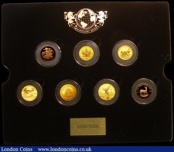 Mint Proof Sets w// Box /& COA 5 Green Box Sets Lot 1994-1995-1996-1997-1998 U.S