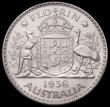 London Coins : A166 : Lot 1088 : Australia Florin 1938 (m) Proof KM#40 in a PCGS holder and graded PR62, Krause lists at $12,000 in P...