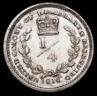 London Coins : A166 : Lot 1111 : Essequibo and Demerary Quarter Guilder 1816 KM#11 a rare one-year type, EF with some minor contact m...