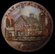 London Coins : A166 : Lot 1280 : Penny 19th Century Worcestershire - Dudley, Skidmore's 1797 DH2 Obverse: Ruins of an Ancient Bu...