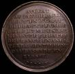 London Coins : A166 : Lot 1312 : Madame' Chevalier de Beaumont D'Eon 1777 40mm diameter in bronze Eimer 770, Obverse: Bust,...