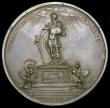 London Coins : A166 : Lot 1338 : William and Mary, Restorers of the Anglican Church Eimer 307b cast in silver .Undated (1689) 50mm di...