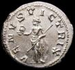 London Coins : A166 : Lot 1435 : Roman Denarius Gordian III Rome 241-242, Rev. VENUS VICTRIX, (RCV 8603) GEF and well centred