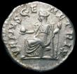 London Coins : A166 : Lot 1436 : Roman Denarius Julia Paula, Rome 219, Rev. VENUS GENETRIX, (RCV 7658) VF