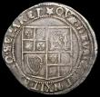 London Coins : A166 : Lot 1496 : Shilling James I Sixth Bust S.2668 mintmark Spur Rowell (6 points)  /inverted star (5 points), Fine/...