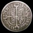 London Coins : A166 : Lot 1500 : Sixpence Elizabeth I 1568 Milled Coinage, Small Bust, S.2599 Mintmark Lis, Fine, scarce