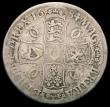 London Coins : A166 : Lot 1514 : Crown 1684 ESC 67, Bull 420 VG, scarce