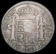 London Coins : A166 : Lot 1588 : Dollar George III Oval Countermark on 1794 Mexico City 8 Reales ESC 129, Bull 1852, countermark VF, ...