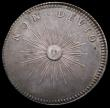 London Coins : A166 : Lot 1599 : Farthing Pattern or Medalet William III in silver undated, Montagu 22 Obverse bust right GVLIELMVS. ...
