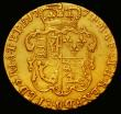 London Coins : A166 : Lot 1648 : Guinea 1774 S.3728 Good Fine/Fine with signs of having previously been mounted at 1 o'clock and...