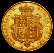 London Coins : A166 : Lot 1671 : Half Sovereign 1842 Marsh 416 VF the reverse a little better