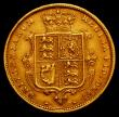 London Coins : A166 : Lot 1682 : Half Sovereign 1883 Marsh 457 NVF/GF