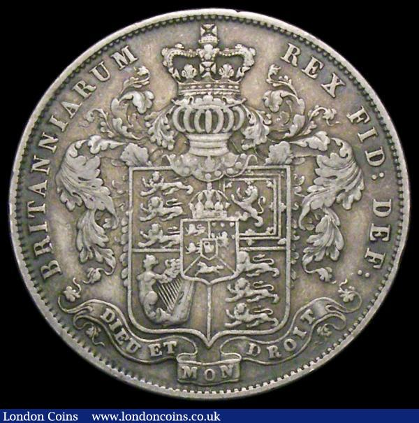 Halfcrown 1828 ESC 648, Bull 2377 Fine/Good Fine the key date in the series : English Coins : Auction 166 : Lot 1770