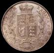 London Coins : A166 : Lot 1779 : Halfcrown 1839 W.W. incuse on truncation, 2 plain fillets, with milled edge the rare currency issue,...