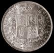 London Coins : A166 : Lot 1797 : Halfcrown 1877 ESC 700, Bull 2750 UNC or very near so and lustrous, in an LCGS holder and graded LCG...