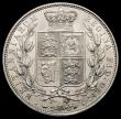 London Coins : A166 : Lot 1802 : Halfcrown 1883 ESC 711, Bull 2762 GEF and lustrous