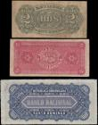 London Coins : A166 : Lot 182 : Dominican Republic Banco Nacional de Santo Domingo L. 14.08.1889 (1912) Remainder issues (3) includi...