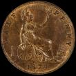 London Coins : A166 : Lot 1861 : Halfpenny 1874H Freeman Obverse 11 paired with Reverse J, the H mintmark points midway between two r...
