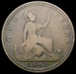 London Coins : A166 : Lot 1972 : Penny 1860 Toothed Border/Beaded Border mule Freeman 9 dies 2+B, also with R over lower 'thin&#...