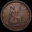 London Coins : A166 : Lot 1993 : Penny 1874H Freeman 69 dies 6+I Fine with the key features of this rare type all clear, Rated R16 by...